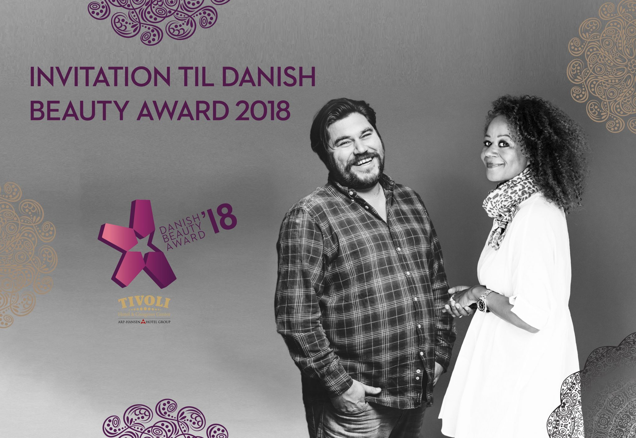 Invitation til Danish Beauty Award 2018