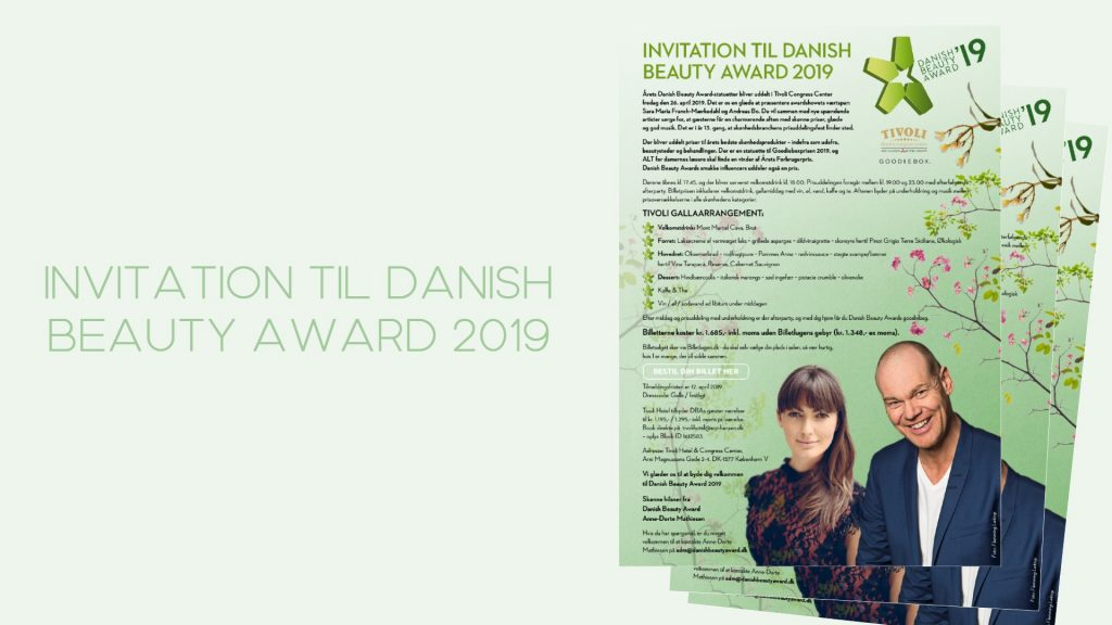 Danish Beauty Award 2019