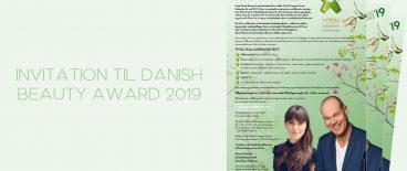 Invitation til Danish Beauty Award 2019